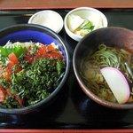 69033450 - オールドリバー 「ルイベ天然海苔丼セット」