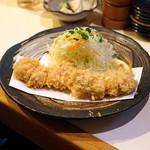 とん太 - 料理写真:特選定食 特ヒレかつ