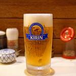 とん太 - KIRIN 生ビール