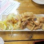 タカマル鮮魚店 - たこ唐揚げ680円