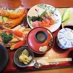 和食処 山女魚 - 日替わり御膳 メインの料理を ズワイガニ 1,650円     2017.06.03
