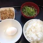 69037889 - 朝定食、御飯中盛