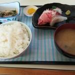 中園食堂 - 刺身定食500円