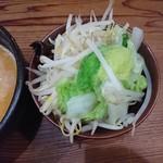 イツワ製麺所食堂 - 2017年5月 坦々つけ麺(冷) 850円