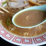 特一番 - 茶濁系スープ