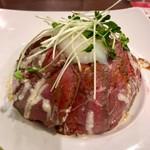 ベーカリーレストランサンマルク - ローストビーフ丼温卵