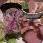 69041589 - 肉の前菜盛り合わせ