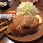二天道楽 - 料理写真:半羽の唐揚げ