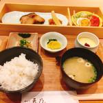 69046381 - 銀ダラ味噌定食1,200円(税込み)♪