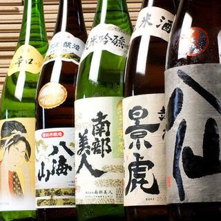 全国各地の銘酒を豊富に取り揃えております。