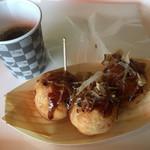スペイン石窯パン513BAKERY - 料理写真:見た目も味も「まるでたこ焼きパン」