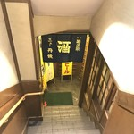 ニュー丹波 - お店は地下です