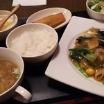 海鮮中華厨房 張家 北京閣 - ウィークエンドランチ 伝統八宝菜ランチ@980円