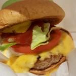 フレッシュネスバーガー - チーズバーガー 410円
