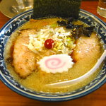 旭屋 - トロ肉ラーメン 塩