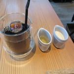 アインソフ ギンザ - オーガニックコーヒー(アイス)・ハチミツ・豆乳