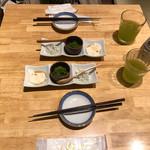 すし・魚処 のへそ  - 三種鉢