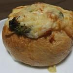 焼菓子 あいうえお - 程良く残るブロッコリーとチーズの風味