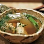 虎白 - 煮物  鰻 夏野菜