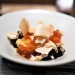 虎白 - デザート メロンの氷 蓮餅 最中 カラメルゼリー