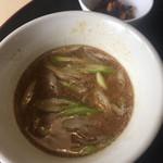 オルガノ - つけ麺のスープ