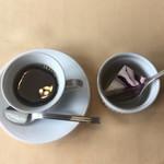 オルガノ - プラス150円でコーヒーとデザートが付きます。
