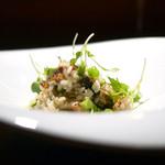 TACUBO - 鰻と空豆のリゾット