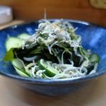 家庭料理 小川 - 酢の物