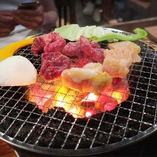 焼肉みやび - 料理写真:炭火焼肉♪