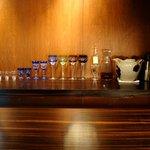 野口太郎 - 切子のワイングラス