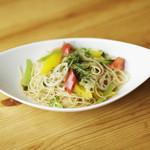 カフェダイニング9 - 彩り野菜のペペロンチーノ