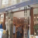 シャワー パーティ カフェ - エントランス