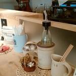 シャワー パーティ カフェ - カウンター