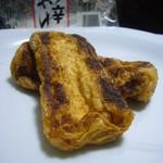 永井豆腐店 - ピリ辛あげ豆腐(自宅調理後)