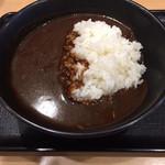 吉野家 - 黒カレー 350円 ご飯かるめ。