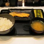 吉野家 - 【朝食】「焼魚定食」です。
