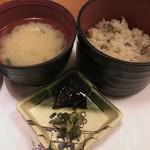 京の都庄や - ご飯