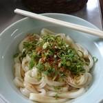 三嶋製麺所 - あつ  小