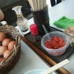 三嶋製麺所 - 薬味類