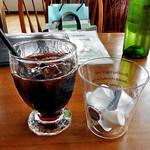 葡萄の花 - 「ドリンクセット」のアイスコーヒー