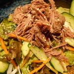 羊肉炭火焼 肉汁屋 - 羊のコールドサラダ(来店時の日替わりメニュー)