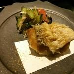 Jushuu - 甘鯛の松笠揚げ