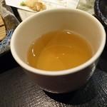 国分寺そば - 食後に蕎麦茶♪
