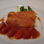 リストランテ ミ ディーカ - パルマ産生ハムで包んだ美桜鶏旨肉のコトレッタ