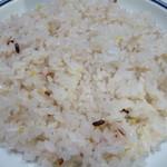 樹の花 - 雑穀米が合う