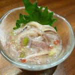 日本酒と蕎麦 中野いざ宵 - いかわさび