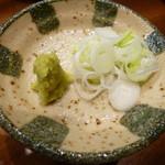 日本酒と蕎麦 中野いざ宵 - お薬味
