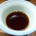 日本酒と蕎麦 中野いざ宵 - つゆ