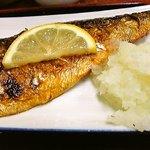 呑呑亭 - 鯖の塩焼き