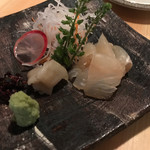 sakazukiyakaduchi - 金目鯛刺身